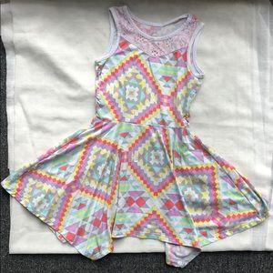 Soft Fun Geometric Dress